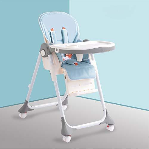 Salle À Manger Pour Enfants Chaise Siège d'appoint pour bébé chaise haute Chaise de salle à manger pour enfant portable avec plateau d'alimentation Table Slip Safety confortable et réglable en hauteur