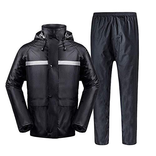 Guyuan Pantalones de Lluvia Traje Impermeable Impermeable Motocicleta batería Coche Solo Hombres...