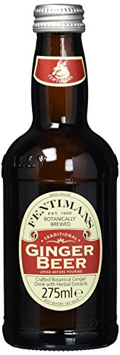 Fentimans Ginger Beer, 12er Pack, EINWEG (12 x 275 ml)