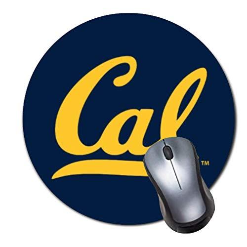 Tappetino per mouse rotondo con logo Berkeley Cal
