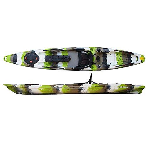 Feelfree Moken 14 Angler Kayak Lime Camo