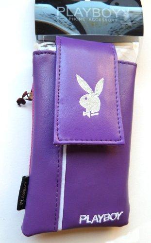 Playboy Handy Tasche Leder Lila