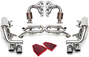 Fabspeed Valvetronic Exhaust Standard 3.4L Polished for the Porsche 991 Carrera 12-16