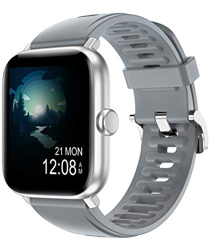 RUNDOING 1.54 inch Full Touch Screen Smart Watch for Android iOS Phones IP68...
