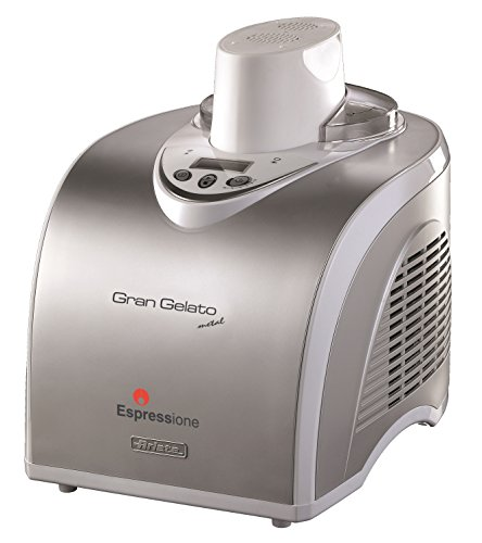 Espressione-Ariete (a company of De'Longhi Group) Gran Gelato Metal Ice Cream Maker