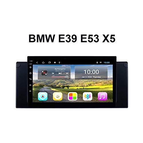 9 Pulgadas Touchscreen Car Estéreo GPS Navegación Para BMW E39 E53 X5 Auto Multimedia Video Player SAT NAV FM Radio Receptor Con Wifi Bluetooth Mirrorlink DSP SWC USB,4 core 4g+wifi: 2+32gb