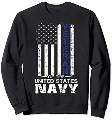 US Navy Veteran United States Navy sweatshirt product image