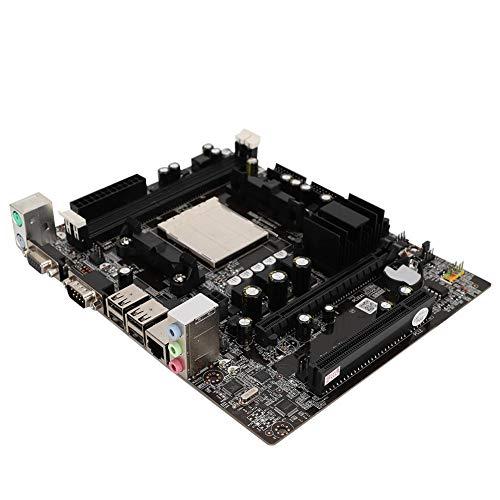 Placa base de computadora, soporte de placa base de escritorio para DDR2+DDR3 soporte de memoria AM2/AM3 4 puertos USB CPU Desktop Board para Nvidia N68/C61 Chipset para AM2/AM3