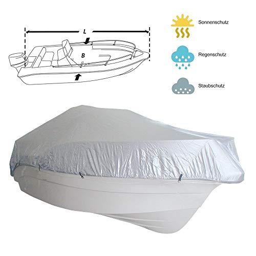 Lalizas Original l Cubierta - Funda para Barco l Nueve differente tamaños los quales protegen el Barco (518-579 cm luengo, 244 cm Ancho)