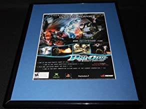 PSI-Ops 2004 11x14 Framed ORIGINAL Vintage Advertisement XBox PS2