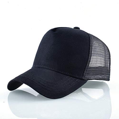 YDXC Gorra de algodón con Estampado Animal de Animales con Bordado Hip Hop Breathable Mesh Bone Trucker Hat-BK