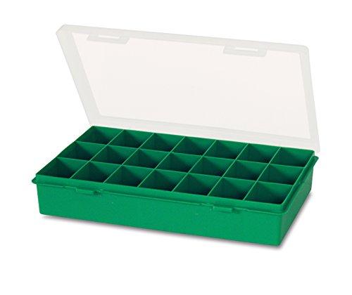 Tayg 060106 Estuche con separador fijo n. 12-21, Verde,