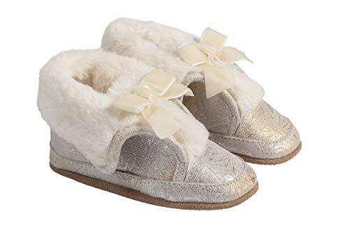 Robeez Willa Gold Cozy Baby Shoe 18-24mo