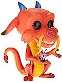"Funko- Pop Mulan-10 Disney Princess 10"" Mushu Figura Coleccionable, Multicolor (45742)"