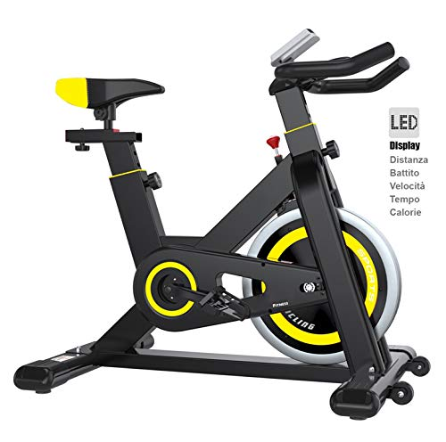 INDOOR BIKE BICI CARDIO BICICLETTA CYCLETTE FITNESS PALESTRA WORKOUT