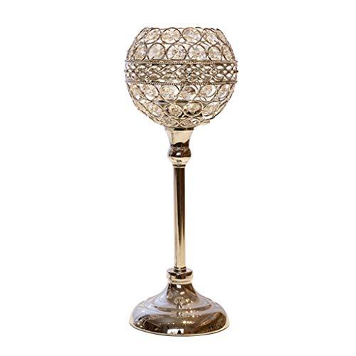 Kandelaar van kristalglas, decoratief, Romantica Props Candlestick