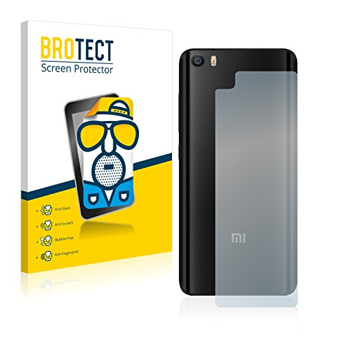 brotect Pellicola Protettiva Opaca Compatibile con Xiaomi Mi5 (Posteriore) Pellicola Protettiva Anti-Riflesso (2 Pezzi)