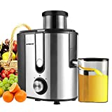 Best Juicers - Centrifugal Juicer Machine, HERRCHEF 600W Compact Juice Extractor Review