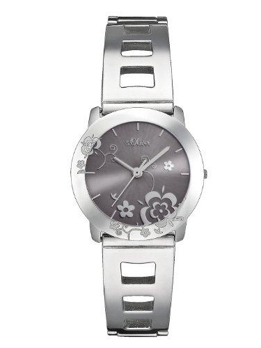 s.Oliver Damen-Armbanduhr SO-2097-MQ