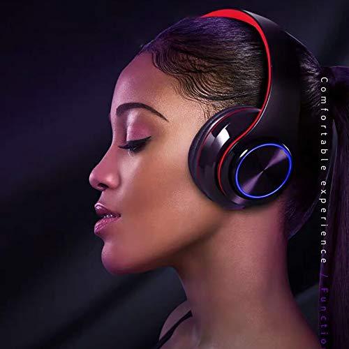 SSZZ op het hoofd gemonteerde, met licht meegeleverde Bluetooth-headset mobiele draadloze subwoofer-headset voor het inklappen van de draagbare comfortabele headsets