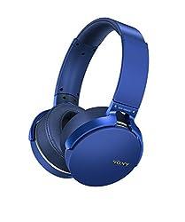 professional Sony MDRXB950B1 / L Extra Bass Bluetooth Headphones, Blue