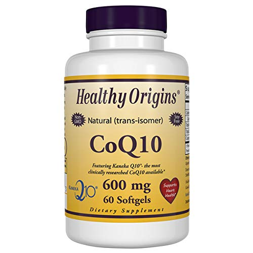 Healthy Origins, CoQ10, (Kaneka Q10), 600 mg, 60 Softgels