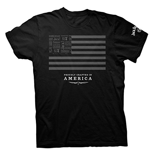 Jack Daniel's Jack and Stripes SS T-shirt - Made in the USA-xxxl