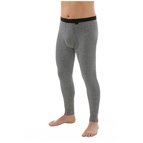 comazo Herren platin Unterhose lang Größe 6 (L)