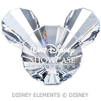 Swarovski Crystal #835357 - Placa con título de Mickey Disney