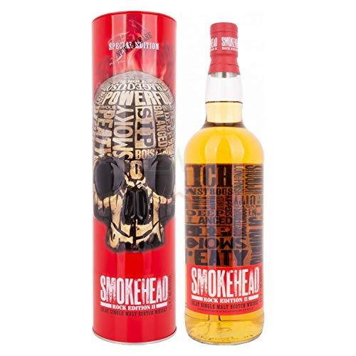 Smokehead ROCK EDITION II Islay Single Malt Scotch Whisky 46,6% - 1000 ml in Tinbox