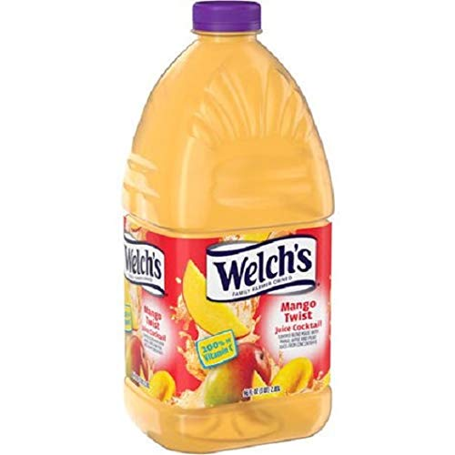 PACK OF 12 - Welch's Juice Cocktail, Mango Twist, 96 Fl Oz, 1 Count