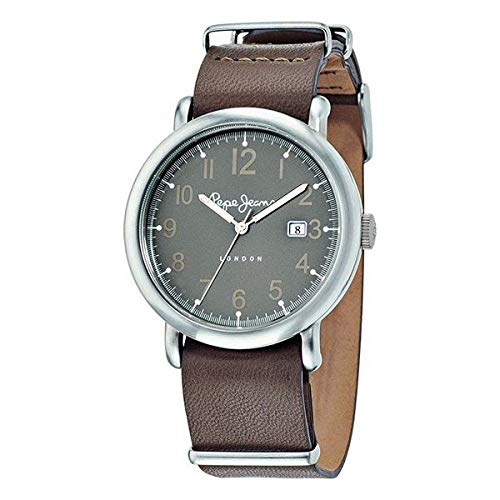 Pepe Jeans Reloj Analog-Digital para Mens de Automatic con Correa en Cloth S0330164