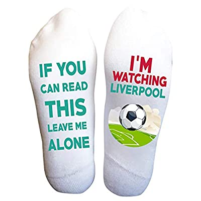 Liverpool Socks Football Funny Birthday Gifts Soccer Game