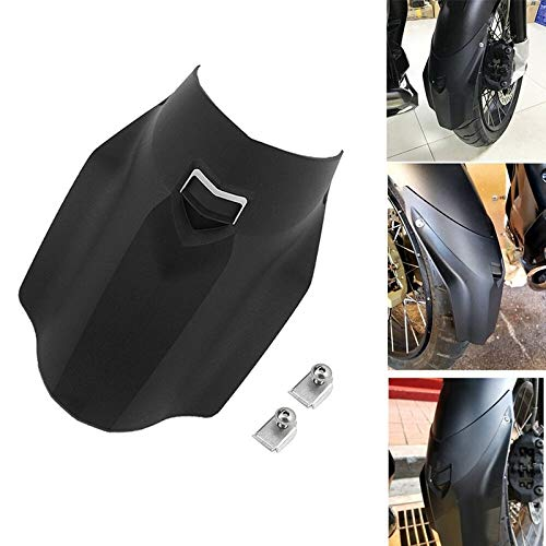 For BMW R1200GS Adventure cubierta extensión del suplemento Fender 2013-2017 Negro delantera de la motocicleta de la rueda Guardabarros guardabarros