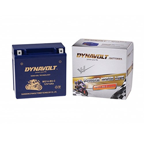 DYNAVOLT GEL MG14-BS-C (YTX14-BS GEL) DIN51214G wartungsfreie GEL Batterie Dynavolt, 12V, 14Ah