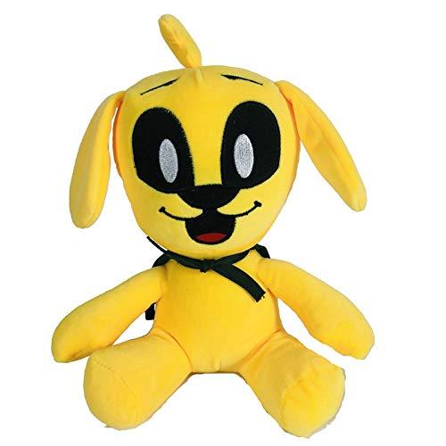 Emeili 25CM Mikecrack Mike-Crack Muñecos de Peluche, Juguete de Peluche de Dibujos Divertido, Juguetes Perro Amarillo Muñecos de Peluche Suaves