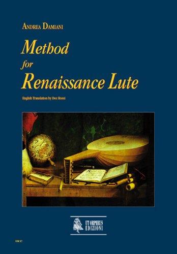 Method for Renaissance Lute. Laute