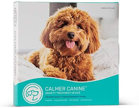 Calmer Canine Bundle Medium Anxiety Treatment Device for Dogs with Convenience Vest M product image