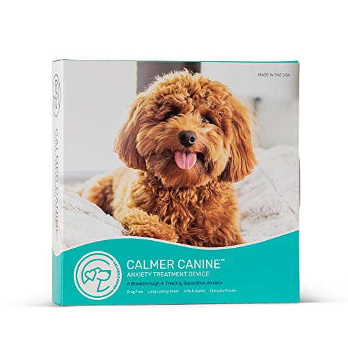 Calmer Canine Bundle - 5 n. Anxiety Treatment Device for Dogs with Convenience Vest (S)