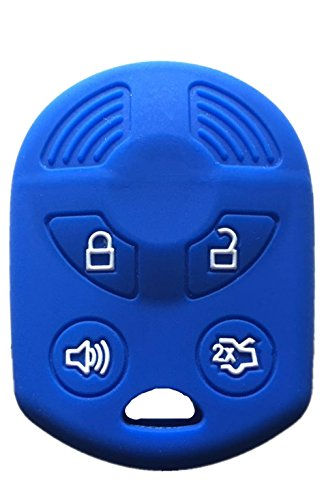 KAWIHEN Silicone Key Fob Cover Compatible with Ford Lincoln Mercury OUCD6000022...