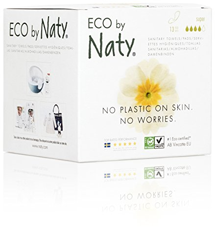 Eco by Naty Toallas sanitarias, 13 toallas