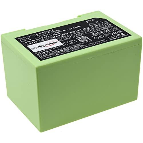 Akku kompatibel mit Saugroboter iRobot Roomba i7 (7156), i7158, 14,4V, Li-Ion