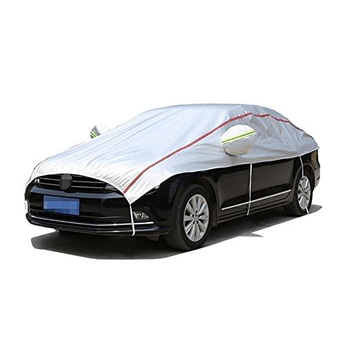 Cubierta de la cubierta del parabrisas de la cubierta del coche protege la privacidad de los vehículos, espesando la cubierta del espejo de la capucha de automóvil a prueba de agua, compatible con Peu
