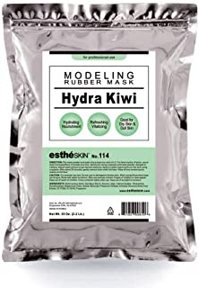 estheSKIN No.114 Hydra Kiwi Modeling Mask Powder for Professional Facial Treatment, 35 Oz.