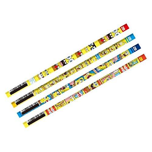 スポンジボブ 鉛筆 2B 12本1セット