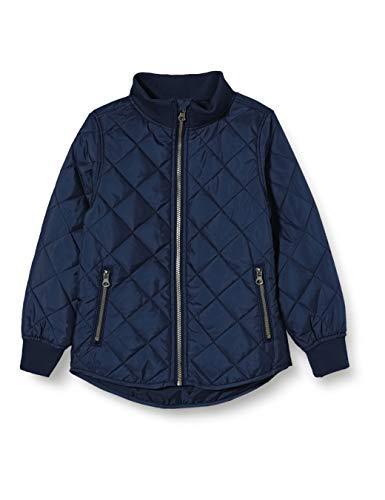 NAME IT Jungen NKMMOHAN Quilt Jacket Camp Jacke, Dark Sapphire, 152