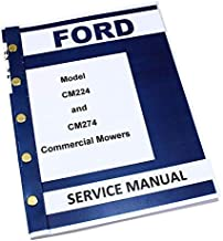 Ford Holland Cm224 Cm274 Commercial Mower Service Repair Manual Front Mower
