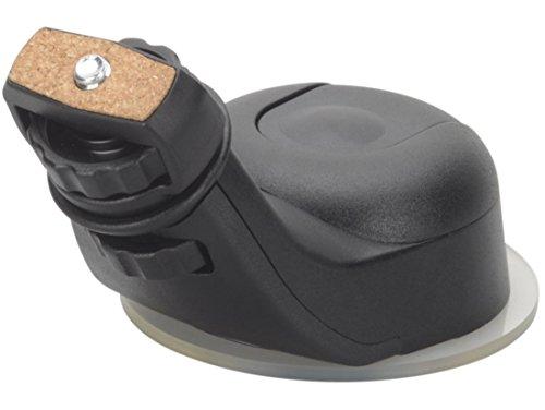 KRS- HC - KFZ Saugnapf Halterung für Kamera Schraubgewinde 1/4 Zoll (6,4 mm) Autostativ Saugnapf Halterung ¼-Zoll Gewinde für Auto, Wohnmobil, LKW