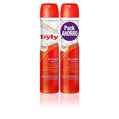 BYLY Extrem 72H Desodorante Spray - 2 Unidades