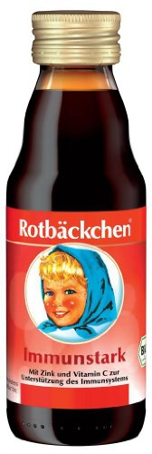 RABENHORST rode bakkjes immunity Bio mini sap 125 ml
